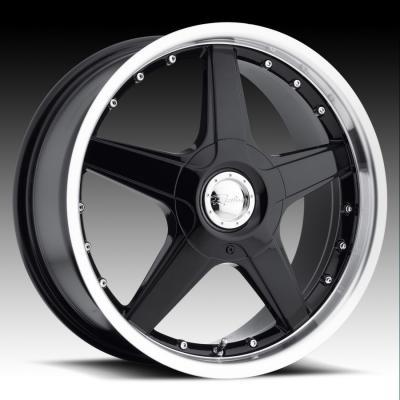 125 Black/Mirror Lip Tires